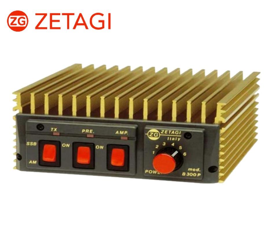 amplificador transistorizado b300p zetagi radioaficionados