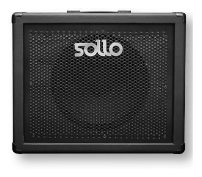amplificador valvulado sollo mini8 + sollo box 1x12