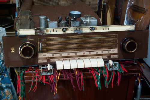amplificador valvular aleman grundig valvulas el95