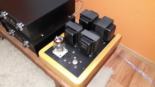 amplificador valvular asl 6c33c ii stage iii monoblock