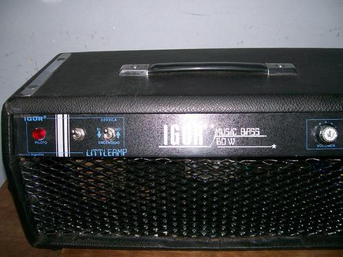 amplificador valvular igor fada 60w excelente sonido