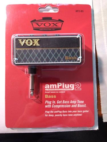 amplificador vox ap2bs amplug bass g2 bajo guitarra audifono