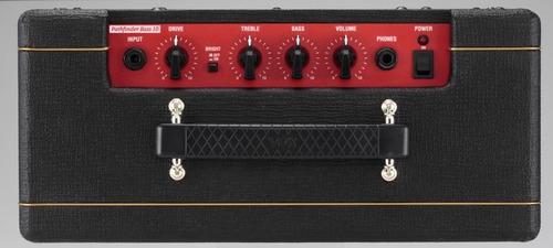 amplificador vox pathfinder pfb10 para bajo de 10w drive