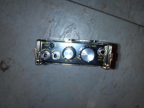amplificador y microfono espia de alta sensibilidad fl-999