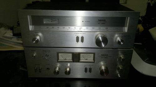 amplificador y sintonizador marca nikko na-550 y nt-550,func