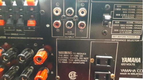 amplificador yamaha modelo rx-v592