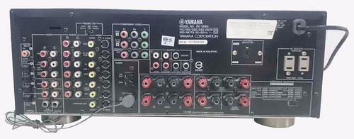 amplificador yamaha rx-v640, 6.1 canales y 320w de potencia!