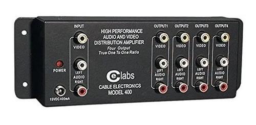 amplificadore de distribución de a/v  1x4 / av400