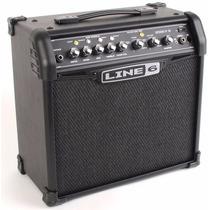 Line 6 Spider Iv 15 15w 1x8 Guitar Combo Amp Black