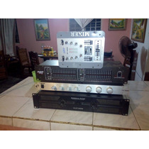 Amplificador Vlp 1500, Ecualizado Crossover Mixer Lo Regalo