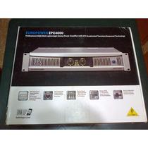 Amplificador Behringer 4000 Epx Nuevo