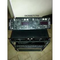 Vendo Power Gemini 2000 Wats, Display Denon Dn6000 Y Crosove