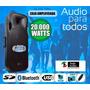 Caja Amplificada Con Italy Audio Con Mayor Potencia Y Fideli