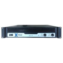 Xpro Mx-6 | Amplificador Potencia Audio Profesional 2x220 W