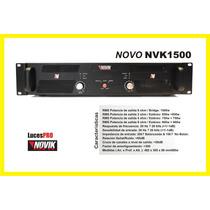 Potencia Amplificador Novik Neo Nvk1500 Audio Profesional