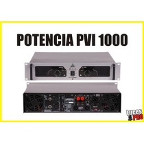 Potencia Peavey Pv1000 Entrega Inmediata Audiopro