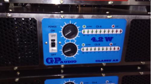 amplificadores audio profissional