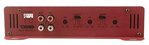 amplificadores de audio y video para auto ds18 slc-x1650.2