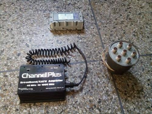 amplificadores de recepccion de 40 a 1000 mhz con antena