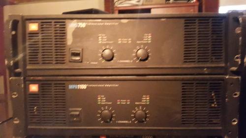 amplificadores de sonido marca j.b.l.