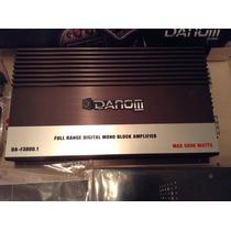 Planta Amplificador Danom 5000w Full Range Digital Monoblock