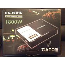 Planta Amplificador Danom 1800w Rms 4 Canales Carro Audio