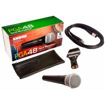 Shure Pga48 Microfono Vocal
