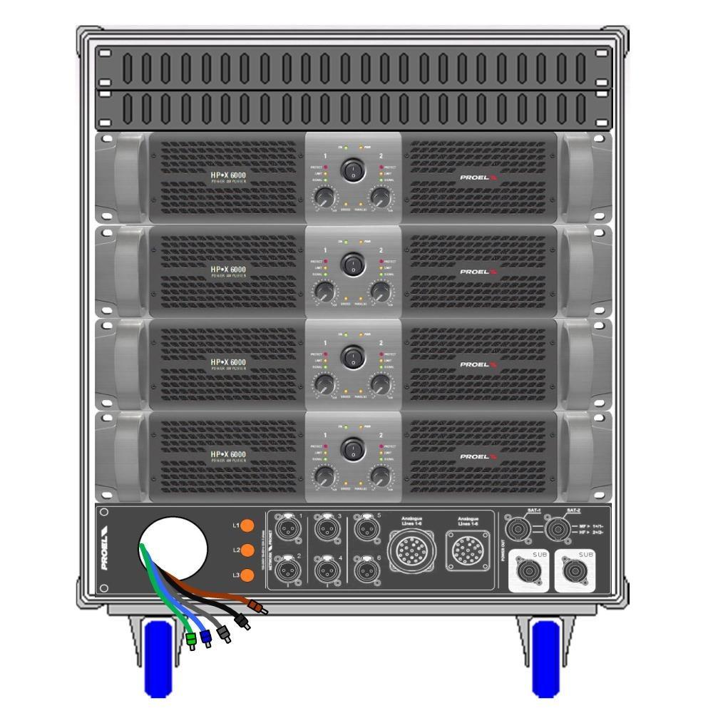 Compra amplificador de potencia de audio online al por