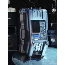 Cabina Amplificada 1560 Usb 1500w Con Fm Y Control