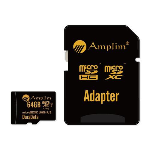 amplim 64gb microsdxc tarjeta con adaptador