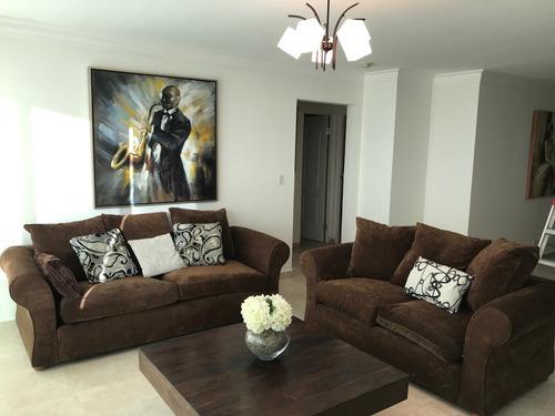 amplio, amoblado apartamento en alquiler en punta pacifica
