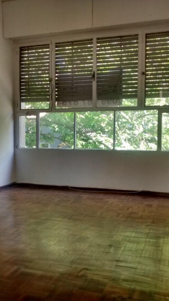 amplio apartamento con excelente iluminacion en pleno centro