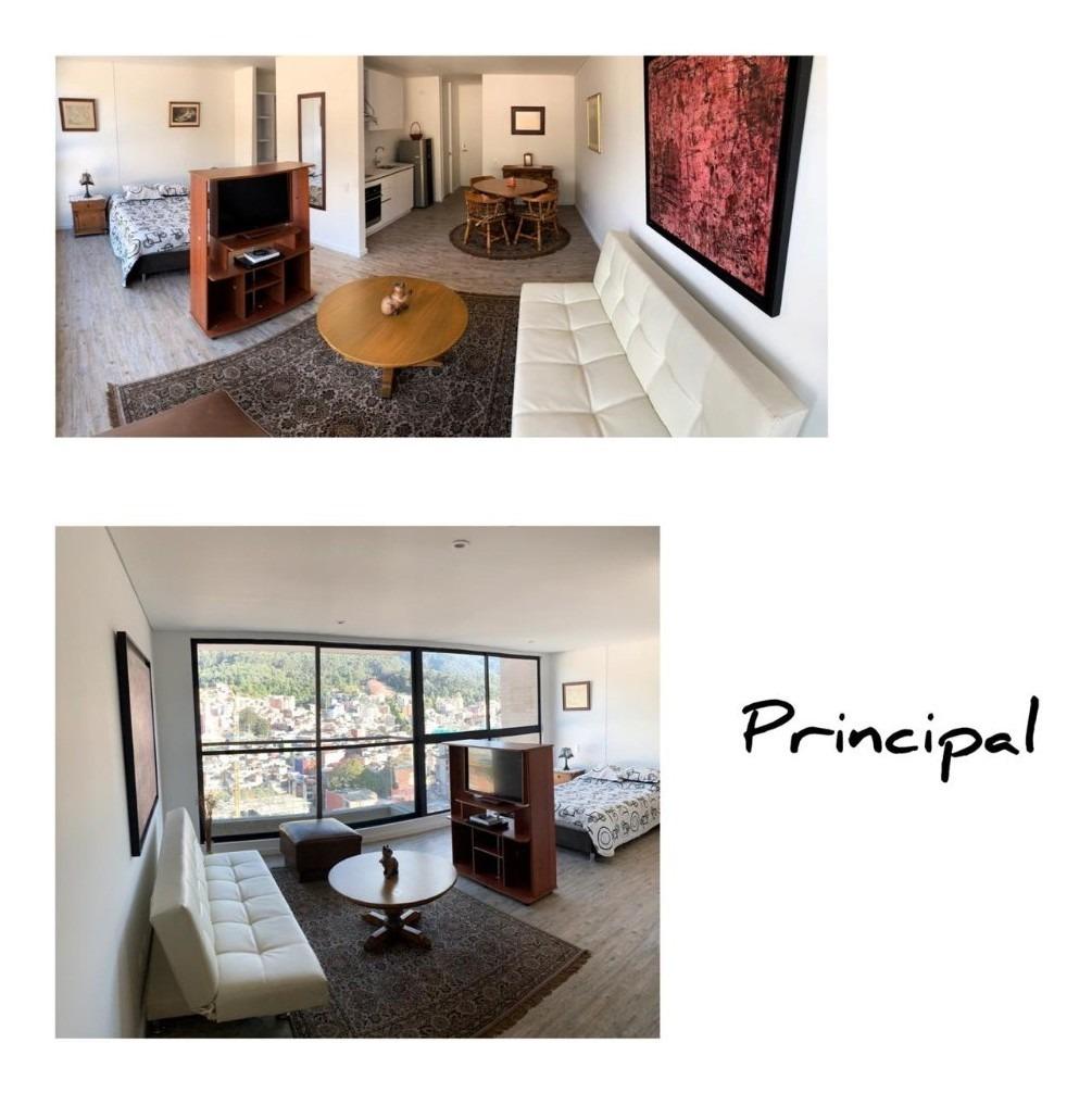 amplio apartamento tipo loft piso 21 de 53 mts