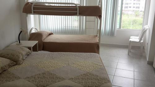amplio departamento 3 dormitorios, playa tonsupa, mar,