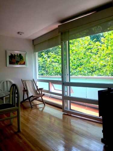 amplio departamento con balcón en venta en el centro de polanco, newton