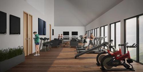 amplio departamento con jardín y gimnasio en col bosque real