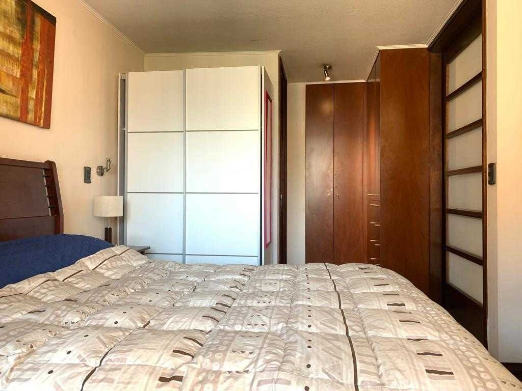 amplio departamento de 1 dormitorio en el corazón del barrio el golf, calle tranquila y segura