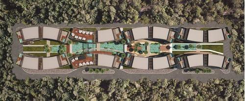 amplio departamento de tres recámaras en venta en tulum, petra
