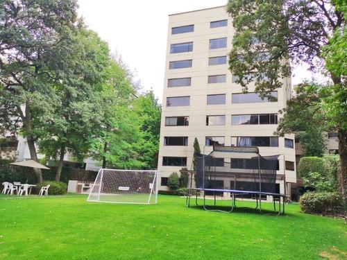 amplio departamento en bonito edificio- bosque de las lomas