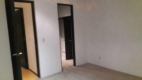 amplio departamento en renta, col. napoles. 120 m2