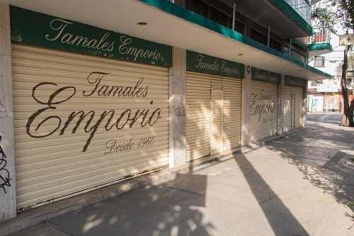 amplio local comercial en venta en col. san rafael, cuauhtémoc