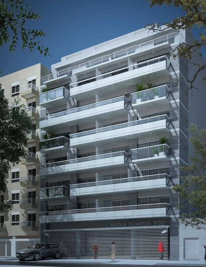 amplio monoambiente con balcón