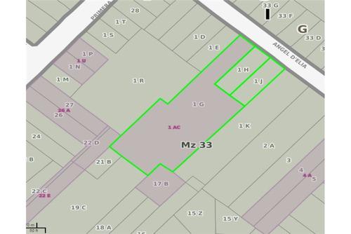 amplio terreno con demolición ideal edificio