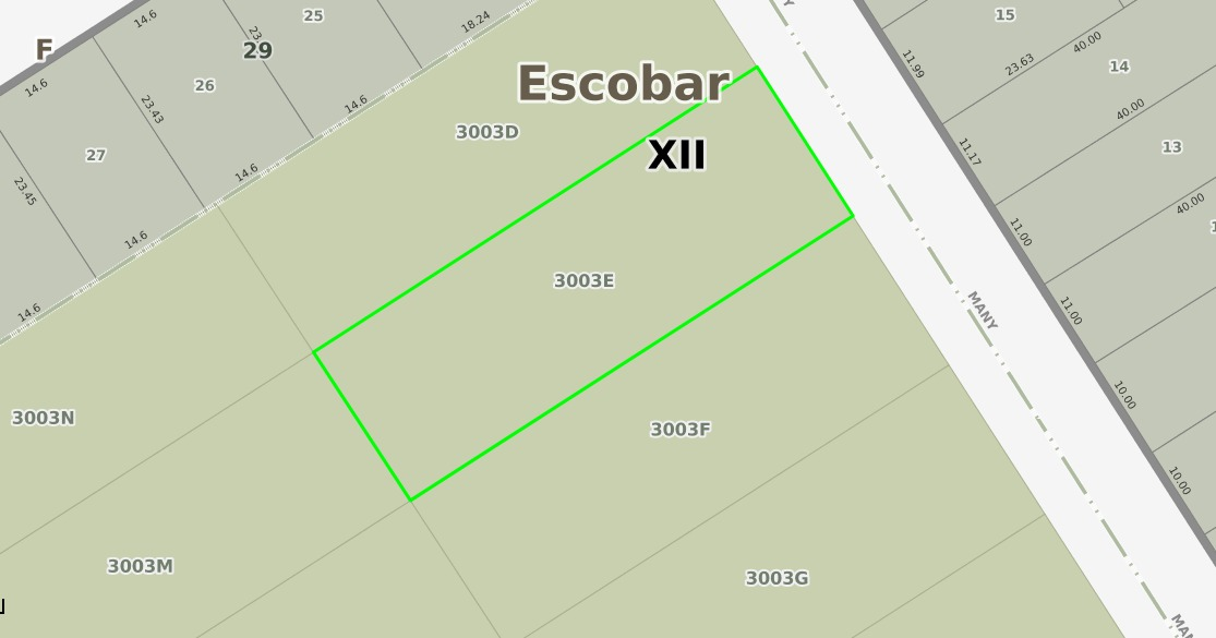 amplio terreno en venta, calle camilo fateche (manny), barri