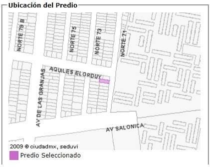 amplio terreno en venta norte 71 azcapotzalco