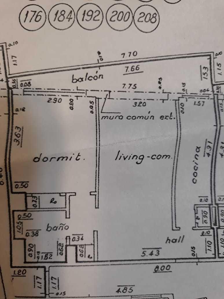 amplio y luminoso departamento 2 amb alquiler dueño directo