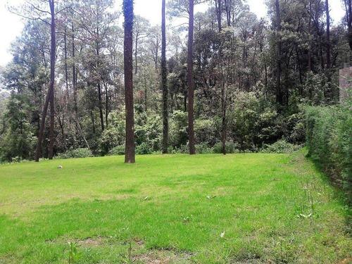 amplios terrenos en venta fracci. bosque verde en valle de bravo