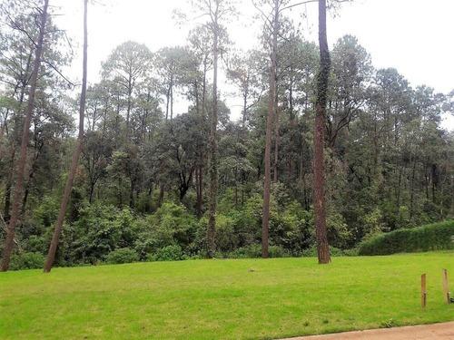 amplios terrenos en venta fraccionamiento bosque verde, valle de bravo