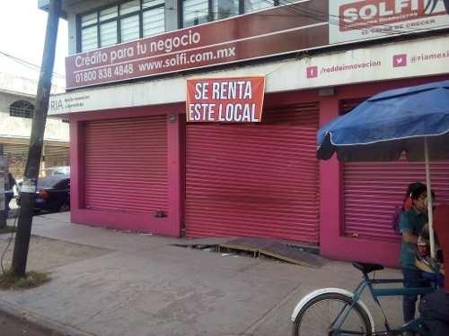 amplisimo  local comercial en av principal junto a bancomer,