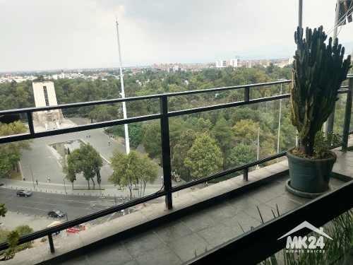 amplísimo penthouse amueblado y equipado en san angel